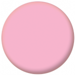 Plain Pink 58mm Fridge Magnet